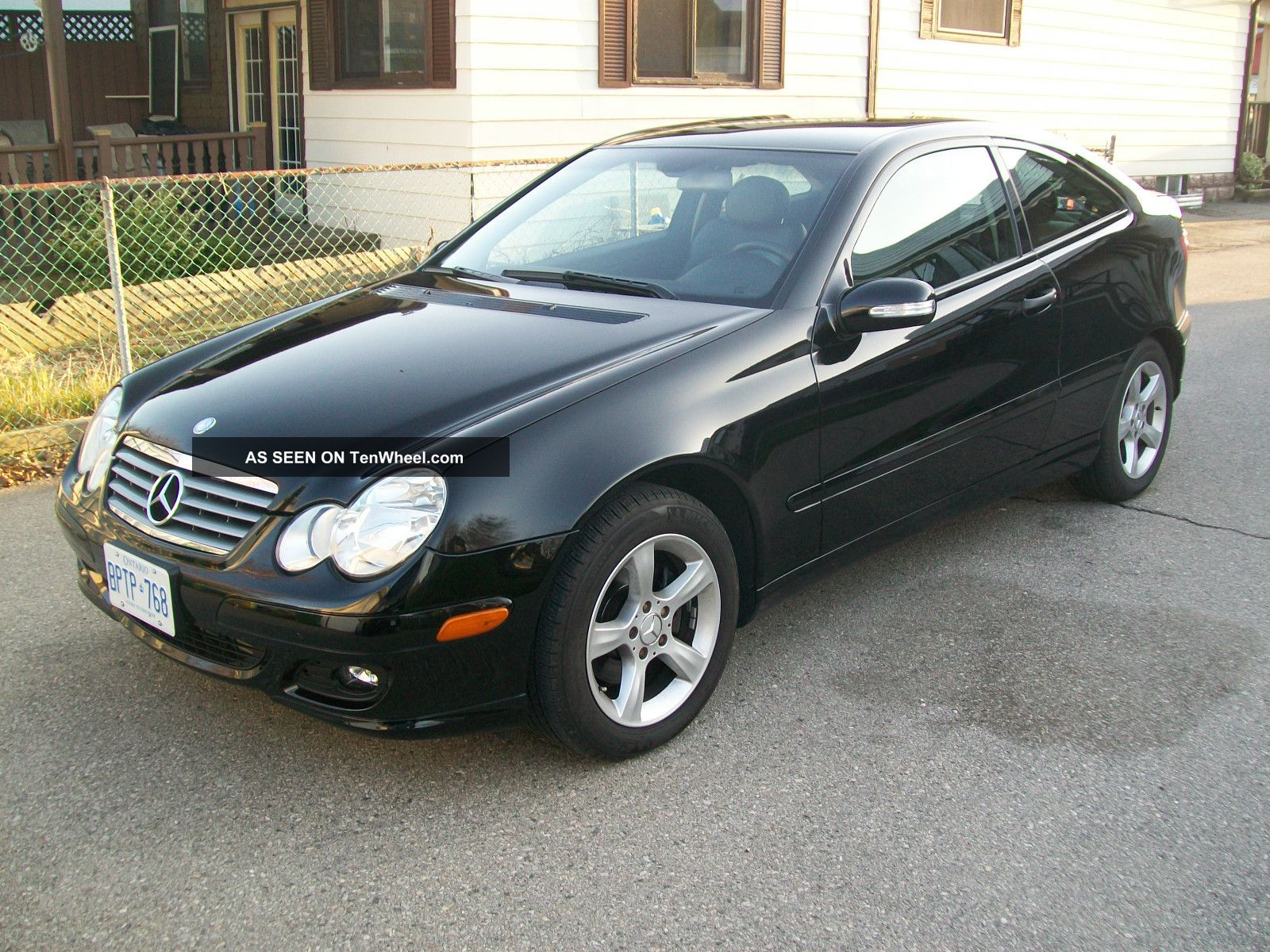 2005 mercedes benz c class c230 kompressor sport coupe