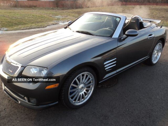 2005 chrysler crossfire convertible roadster srt 6 amg crossfire