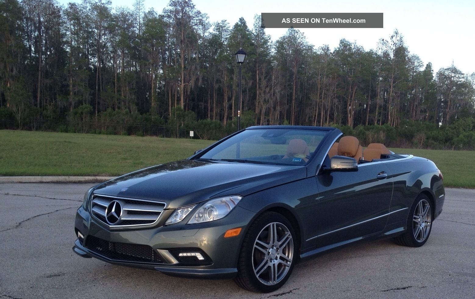 2011 mercedes benz e550 cabriolet for Mercedes benz e350 convertible 2011