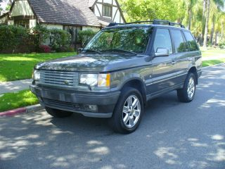 Rare 2002 Range Rover 4.  6 Hse Last Year For This Model Great Find photo