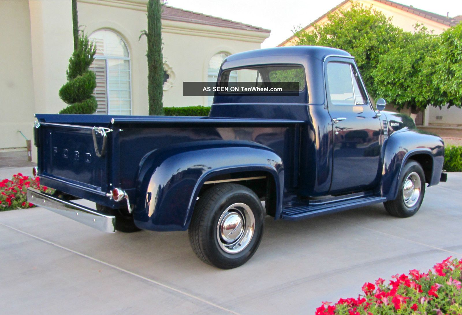 1953 ford f100 pickup truck stepside 54 55 56 hot. Black Bedroom Furniture Sets. Home Design Ideas