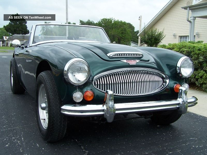 1966 Austin Healey 3000 Bj8 383 / Stroked 400 Hp V - 8 Conversion Auto 4 Wheel Discs Austin Healey photo