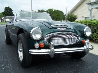 1966 Austin Healey 3000 Bj8 383 / Stroked 400 Hp V - 8 Conversion Auto 4 Wheel Discs photo