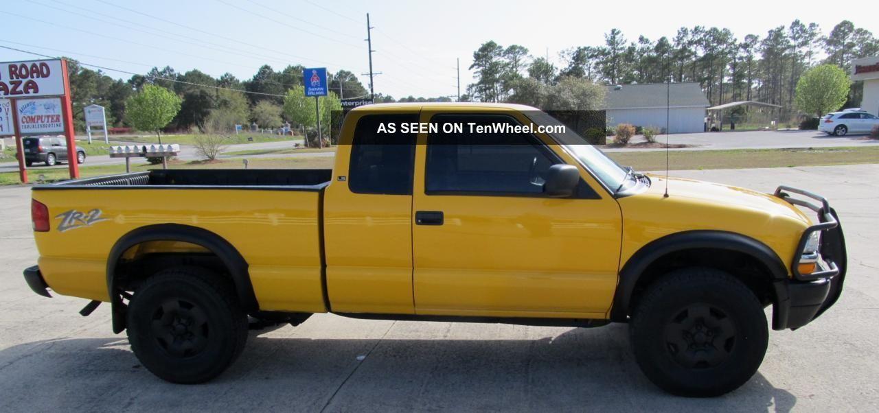 2003 chevrolet 4x4 s10 zr2 ls extended cab 3 door for 10 door truck