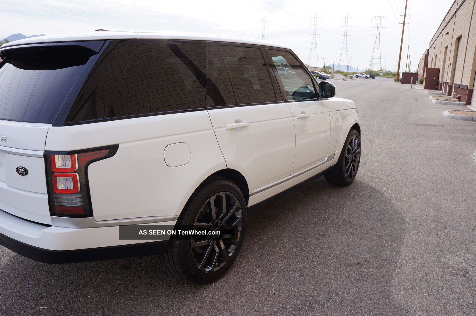 2013 Range Rover Hse White Over Black 22 Quot Meridian