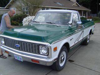 72 Chevy Truck 79k Survivir 402 Big Block 1972 Chevrolet Pickup Cheyenne Cst Nos photo