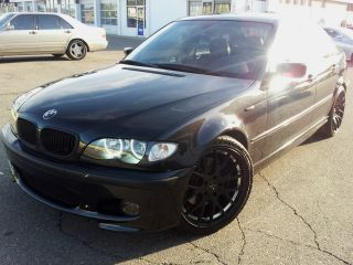 2004 Bmw 330i Zhp 6 Speed Black On Black photo