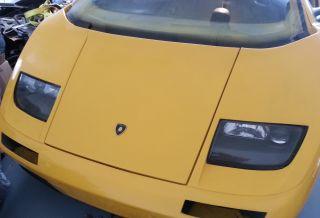 2001 Lamborghini Diablo Gt Replica On 1985 Stretched Fiero Gt photo