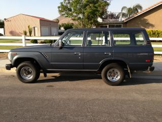 1989 Toyota Land Cruiser Base Sport Utility 4 - Door 4.  0l photo