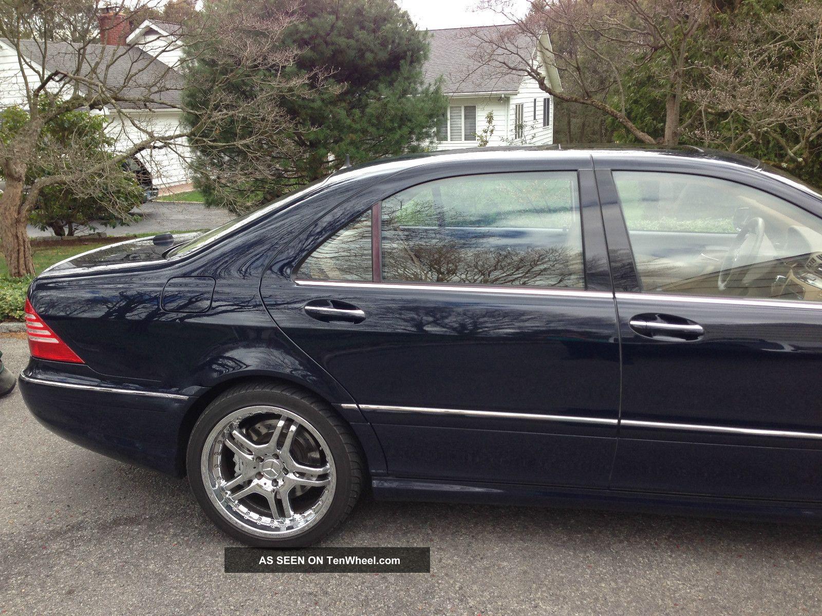 2006 mercedes benz s55 amg base sedan 4 door 5 5l loaded for Mercedes benz s55