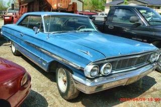 1964 Ford Galaxie 500xl,  390 Engine,  Restorable,  Automatic Transmission - Console photo