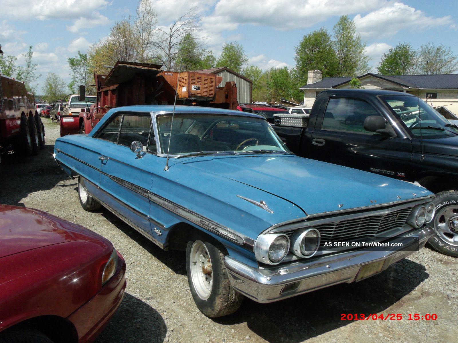 1964 ford galaxie 500xl 390 engine restorable automatic transmission console. Black Bedroom Furniture Sets. Home Design Ideas
