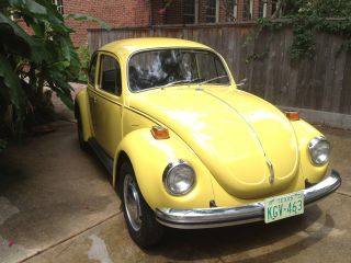 72 1972 Vw Volkswagen Beetle: Unrestored Survivor photo