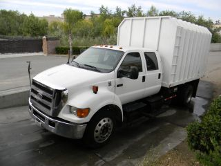 2004 Ford F - 650 12 ' Chipper Dump Truck photo