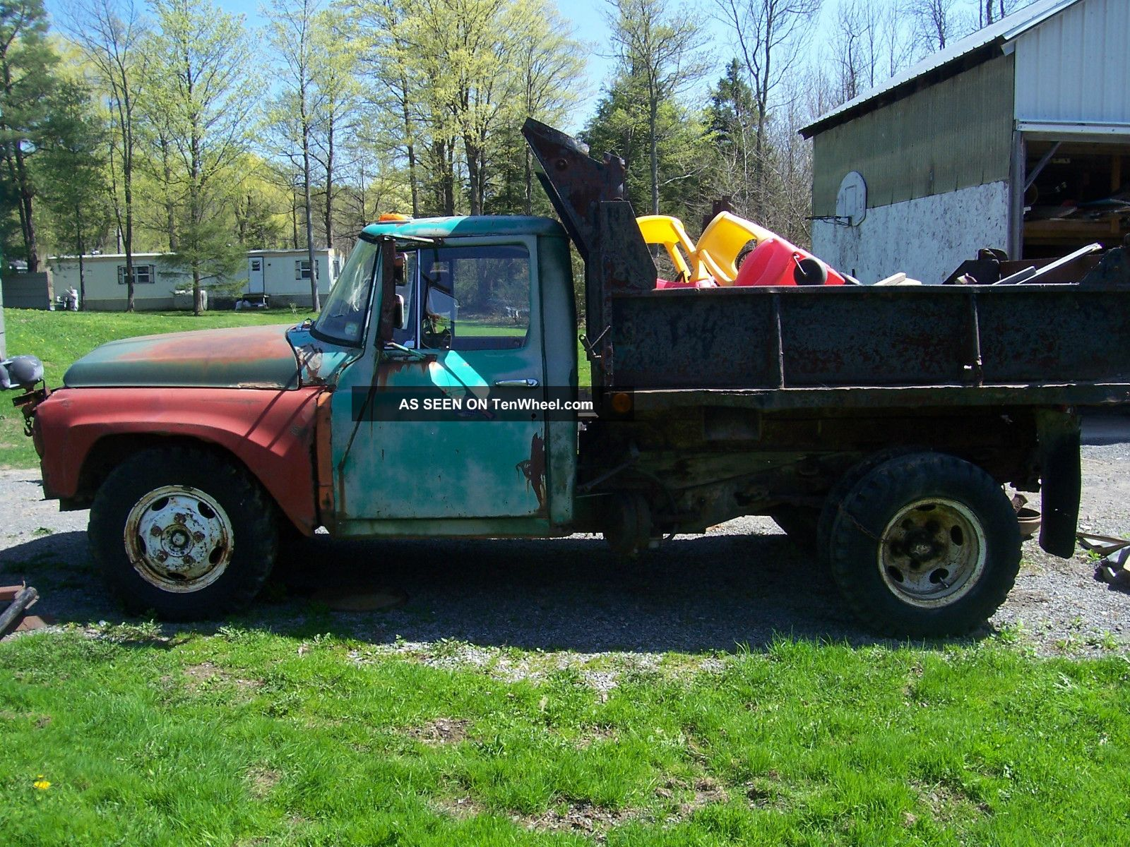 1966 International 1300 Dump Truck Needs Total Restoration Other photo