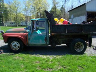 1966 International 1300 Dump Truck Needs Total Restoration photo