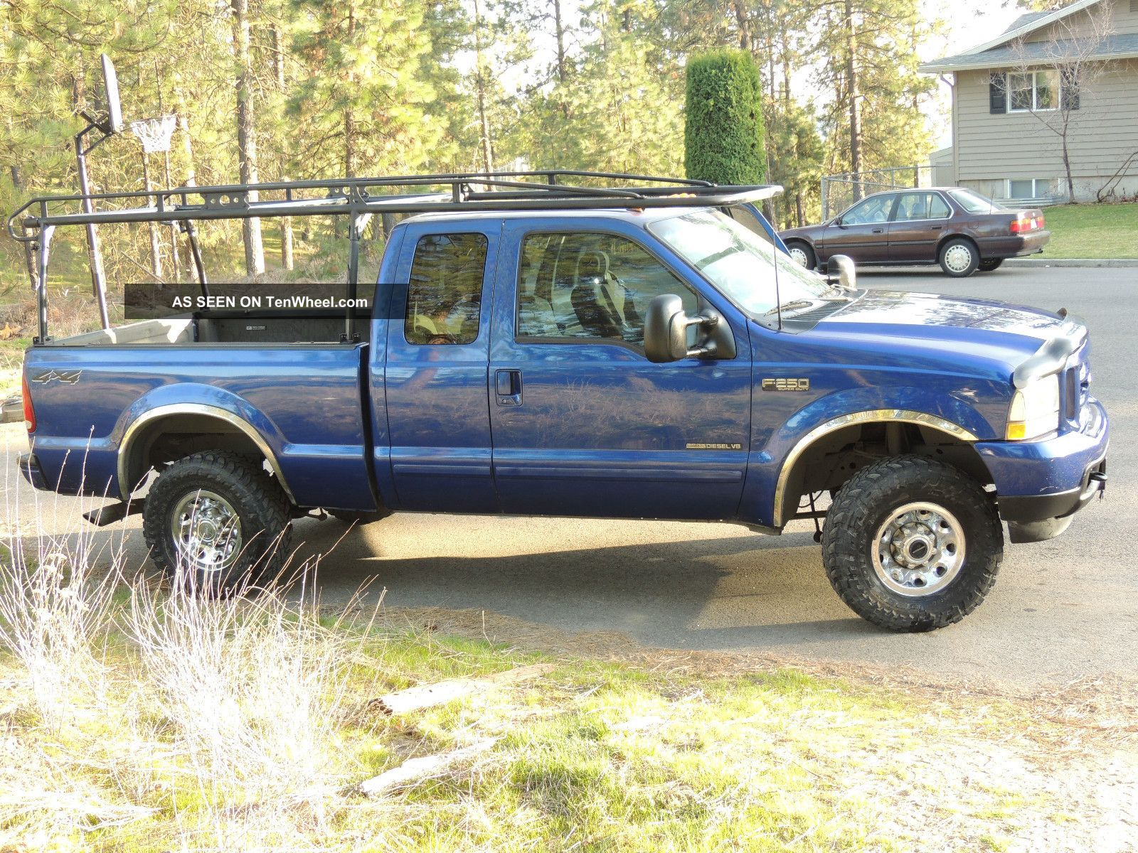 very hard to find 2003 ford f250 duty diesel 7 3 litre automatic 4wd. Black Bedroom Furniture Sets. Home Design Ideas