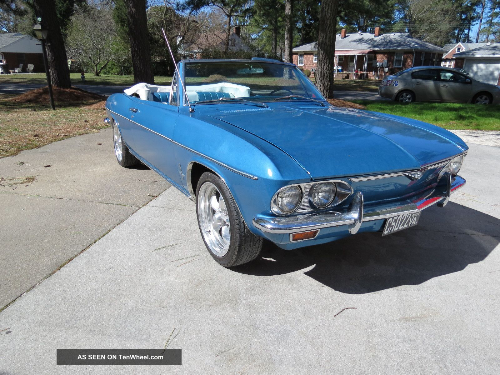 1966 Chevrolet Corvair Convertible Monza 110 With 4 Speed Manual Stick Shift Corvair photo