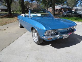 1966 Chevrolet Corvair Convertible Monza 110 With 4 Speed Manual Stick Shift photo