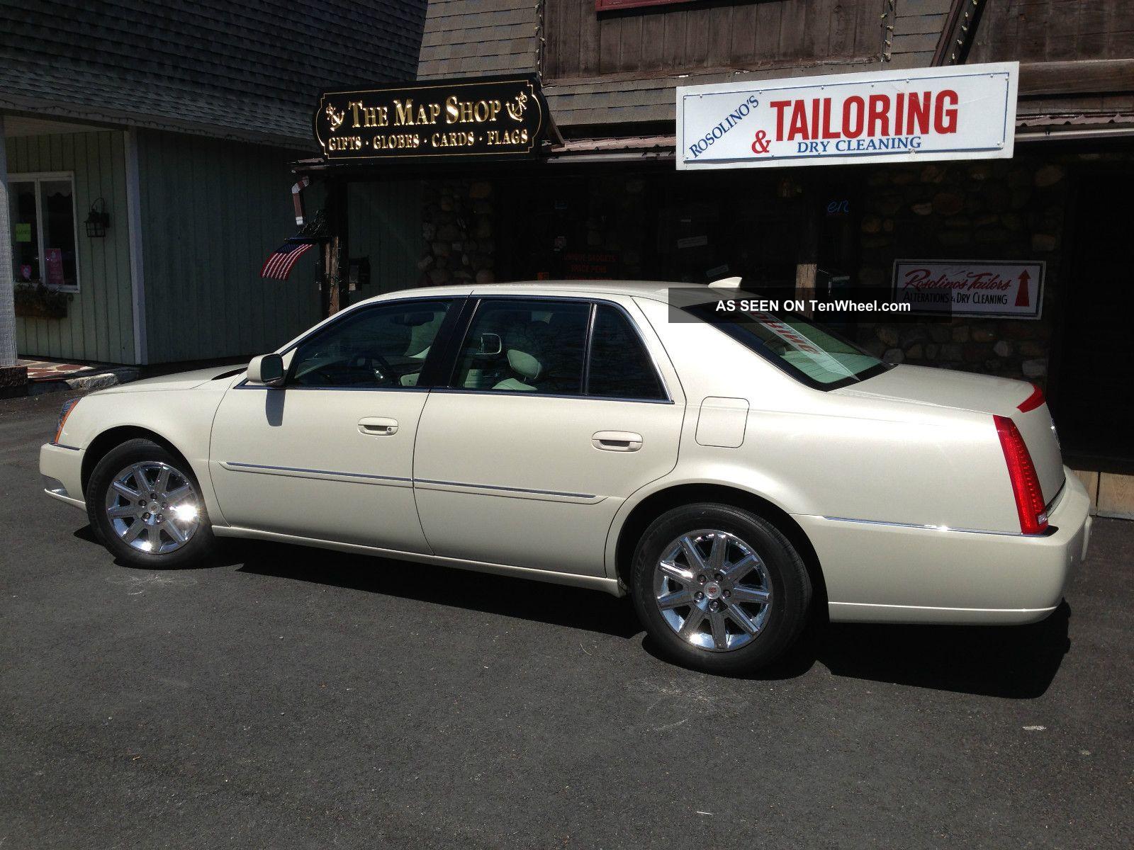 2011 Cadillac Dts Premium Collection Base Sedan 4 Door 4 6l