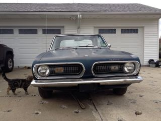 1968 Plymouth Barracuda Coupe photo