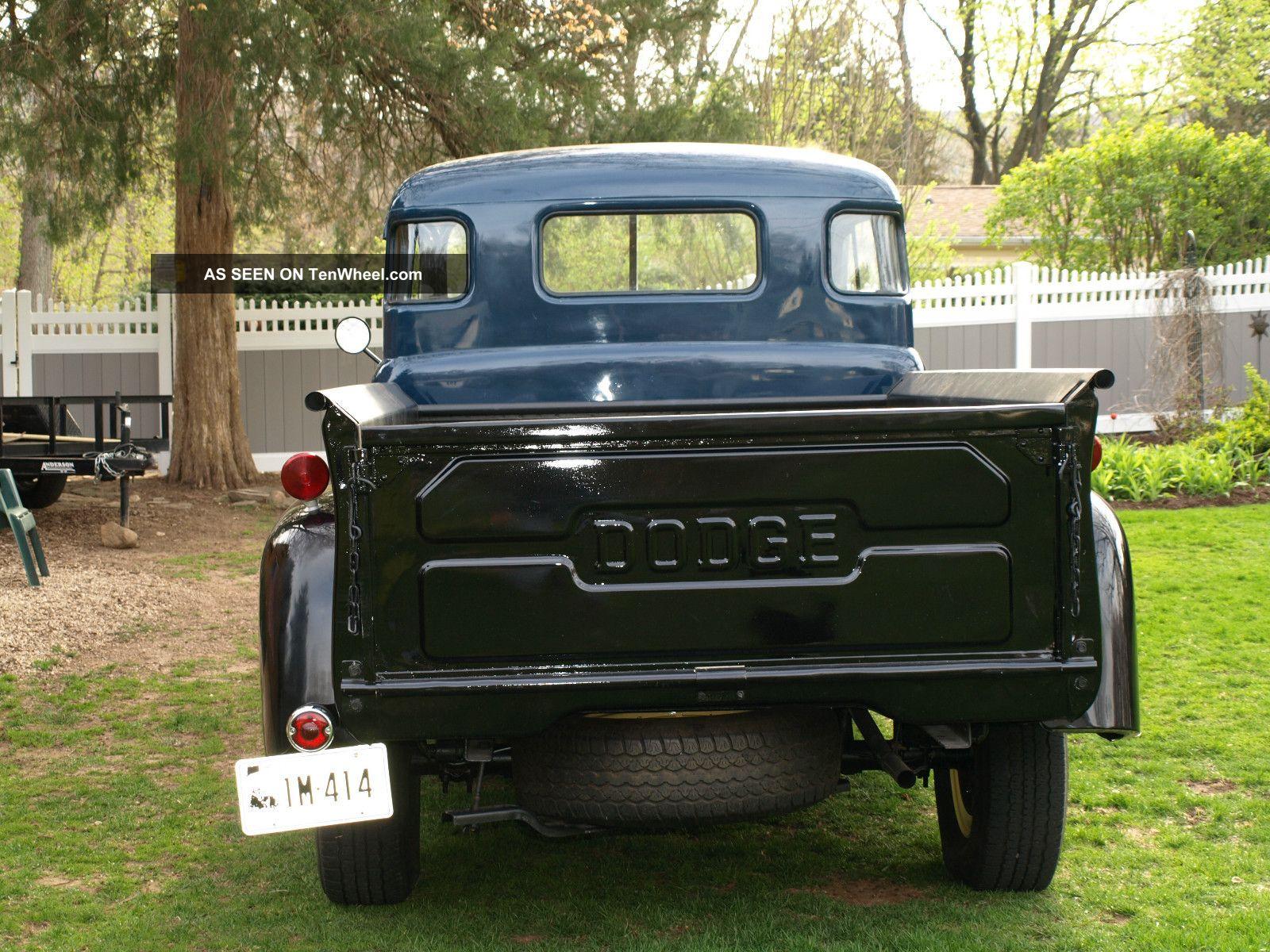 1953 Dodge Pick - Up Truck  1953 Dodge Flatbed Truck