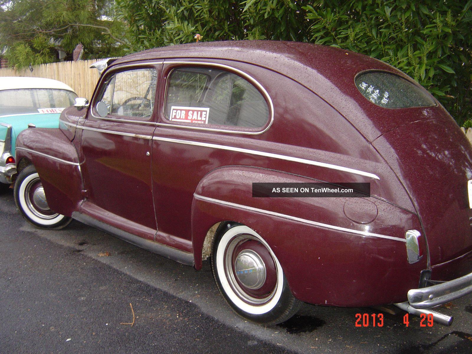1941 ford deluxe 2 door sedan flathead old school rod