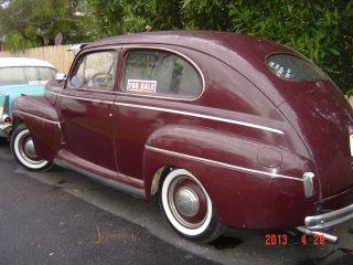 1941 Ford Deluxe 2 Door Sedan Flathead Old School Rod photo
