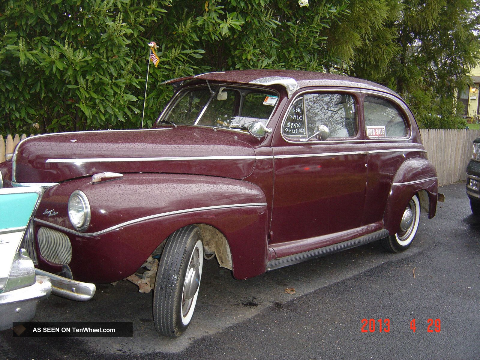 1941 ford deluxe 2 door sedan flathead old school rod