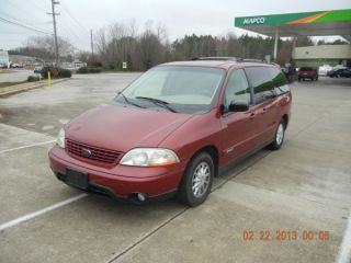 2002 Ford Windstar Sport Mini Van (red) photo