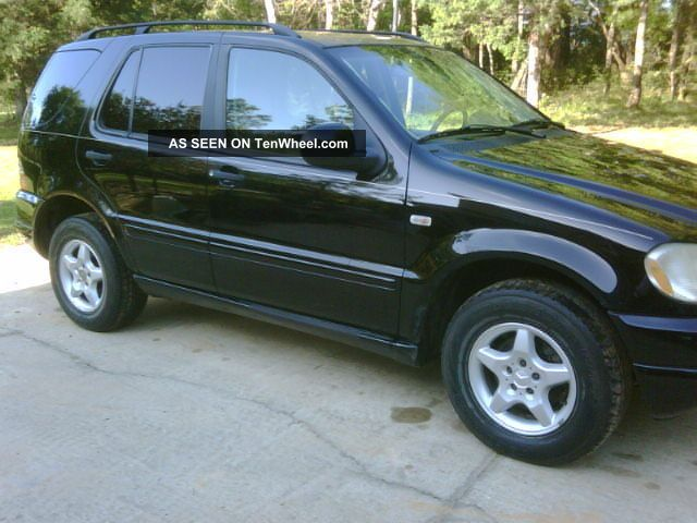 2001 mercedes benz ml320 base sport utility 4 door 3 2l for 2001 mercedes benz ml320