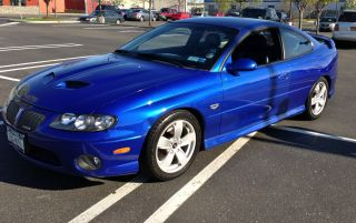 2006 Pontiac Gto Impulse Blue Base Coupe 2 - Door 6.  0l photo