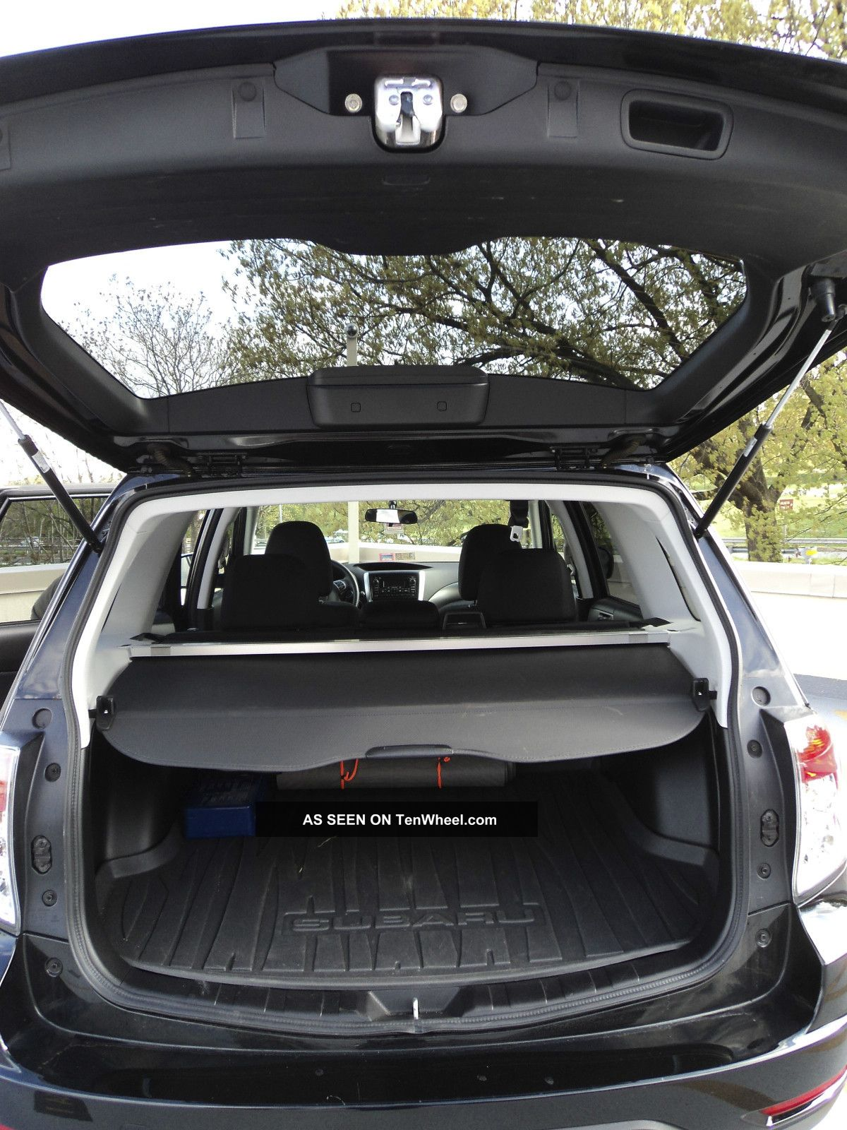 2012 Subaru Forester 2 5x Premium Obsidian Black