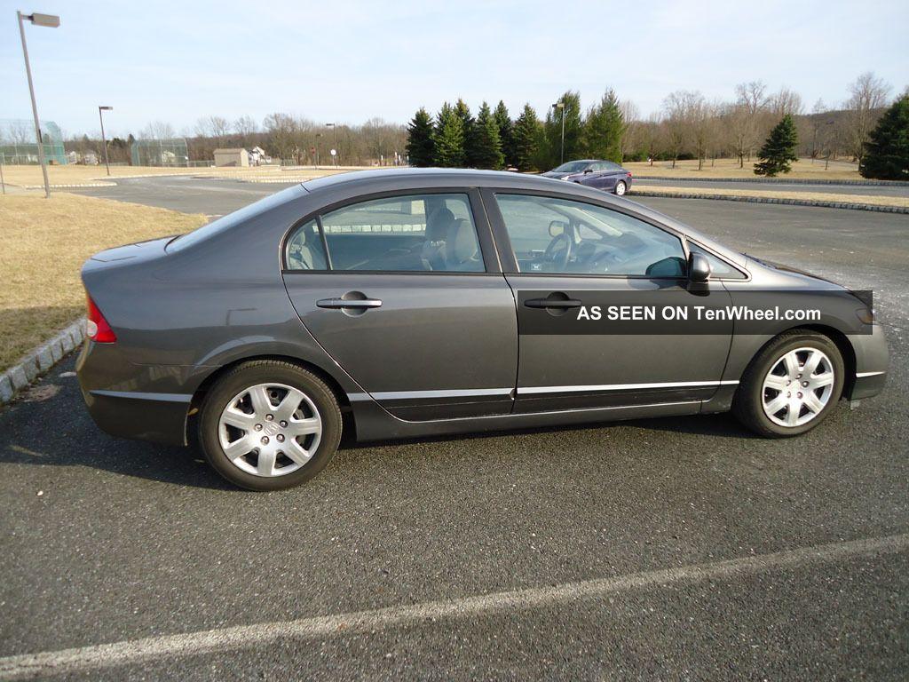 2011 Honda Civic Lx Sedan 5 Spd Manual 4 Door
