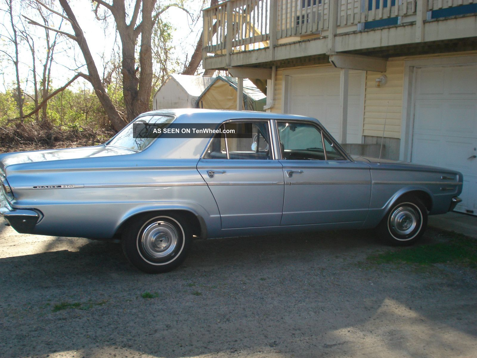1966 Dodge Dart 270 Sedan 4 - Door 3.  7l Dart photo