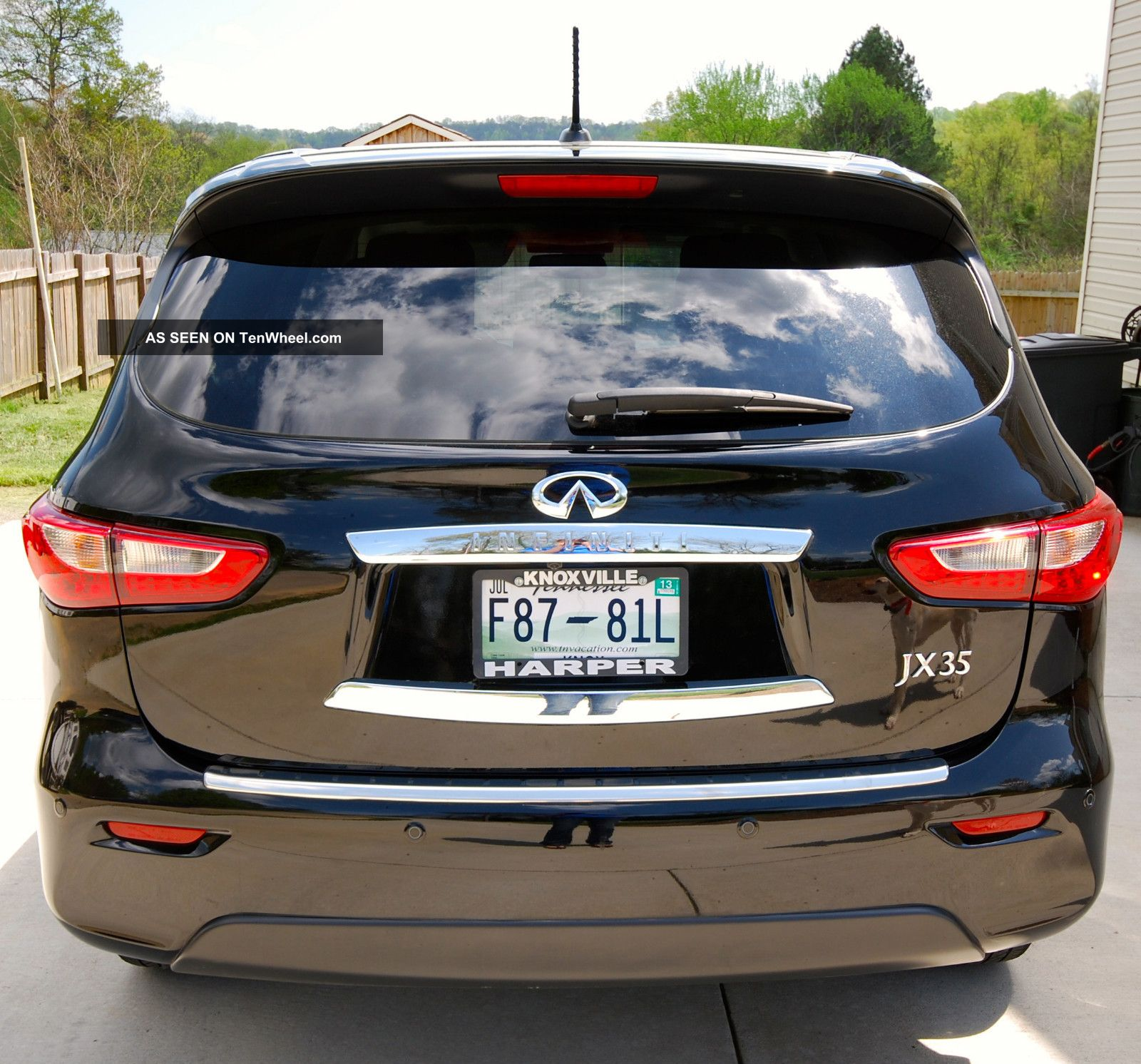 2013 Infiniti Jx35 Awd Loaded Every Available Option / Package