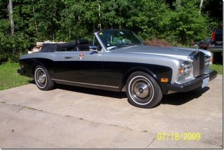 1980 Rolls Royce Corniche Convertible photo