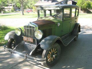 1928 Durant D60 4 - Door Sedan photo