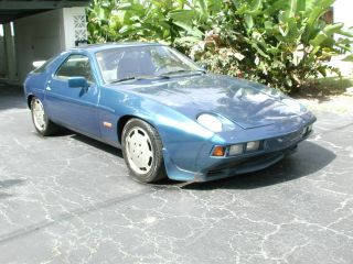 1982 Porsche 928s Ero Rare300 Hp 4.  7l Ero 221 Kw Factory Motor Automatic Trans photo