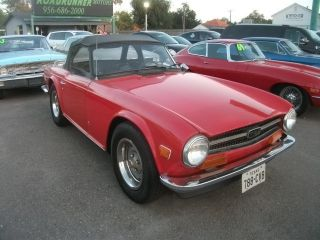 1973 Tr6 Texas No Rust Very photo