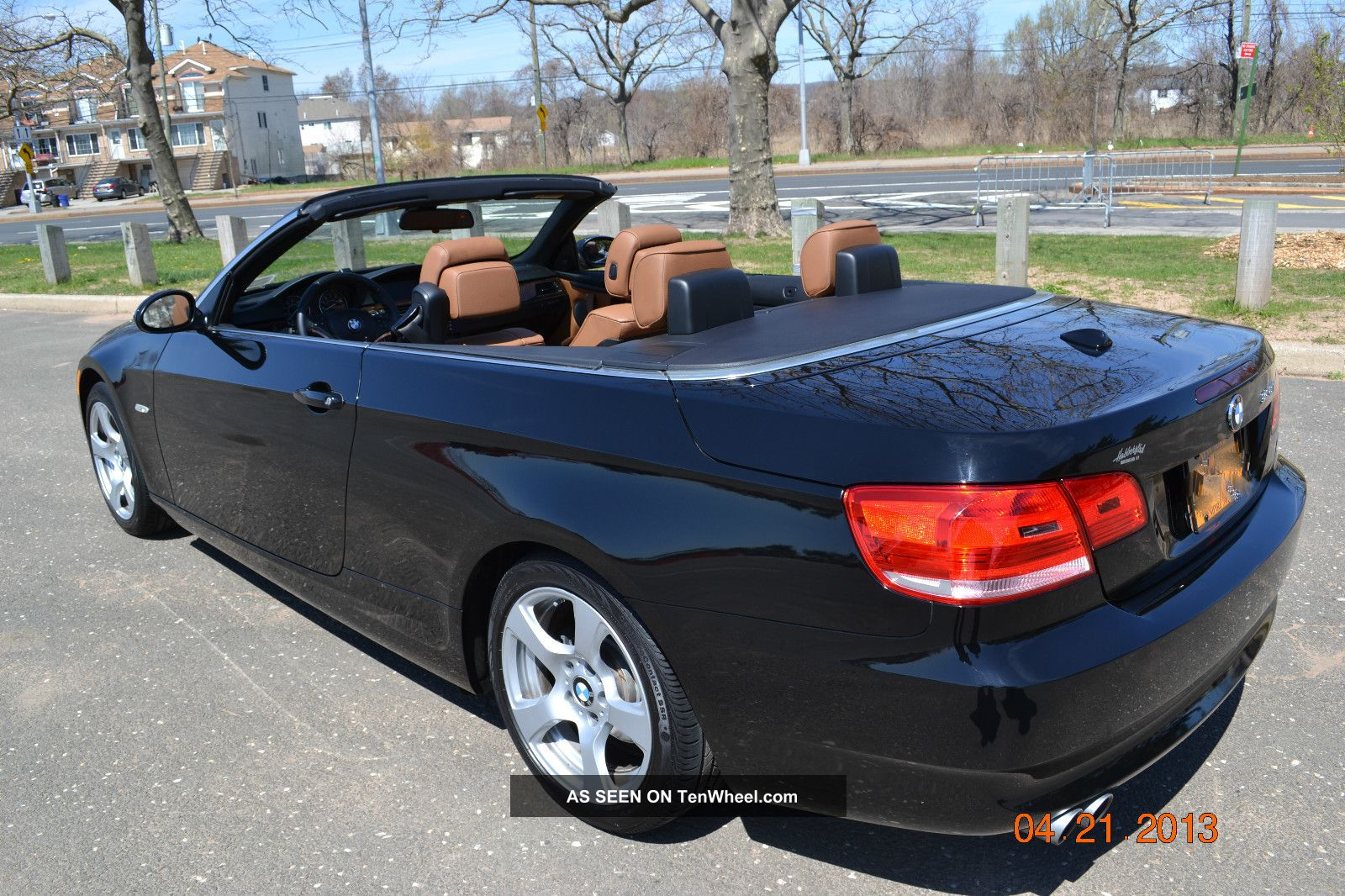 2009 Bmw 328i Black Convertible 2 Door 3. 0l 3 Series photo