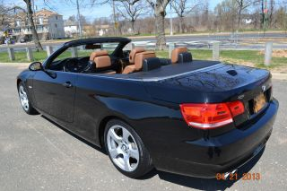 2009 Bmw 328i Black Convertible 2 - Door 3.  0l photo