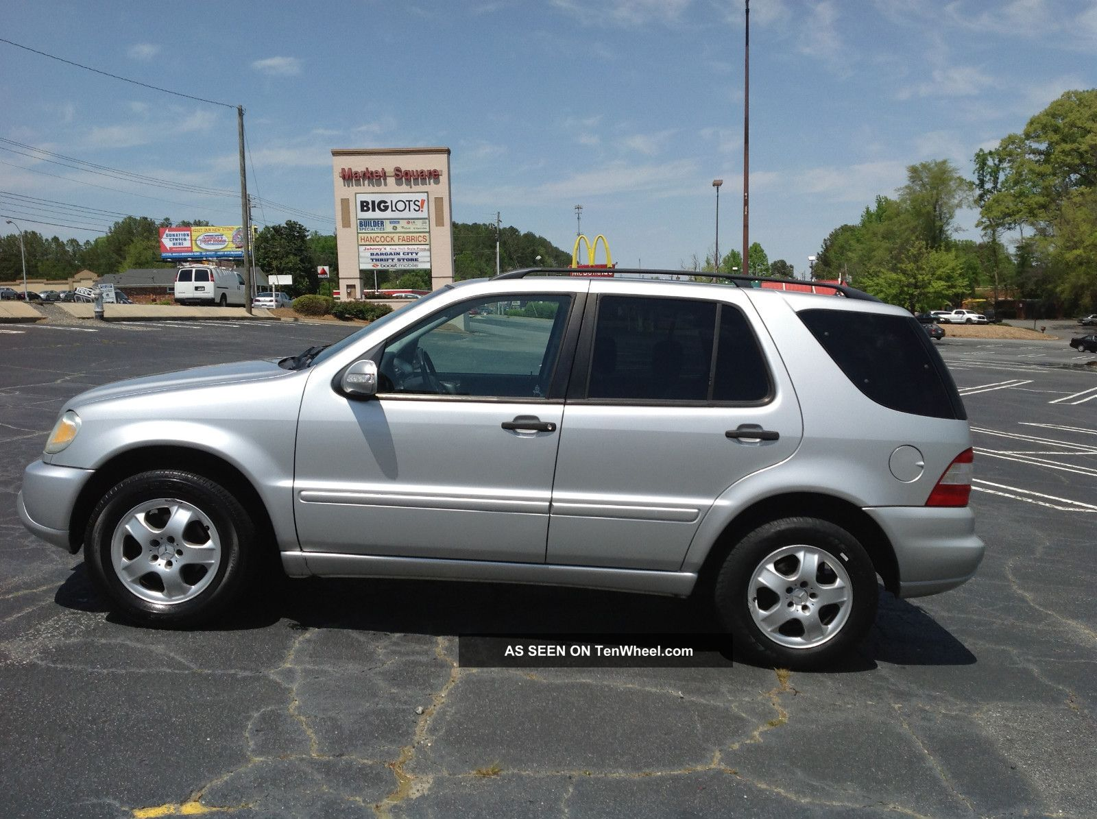 2002 Mercedes - Benz Ml320 Base Sport Utility 4 - Door 3.  2l - M-Class photo