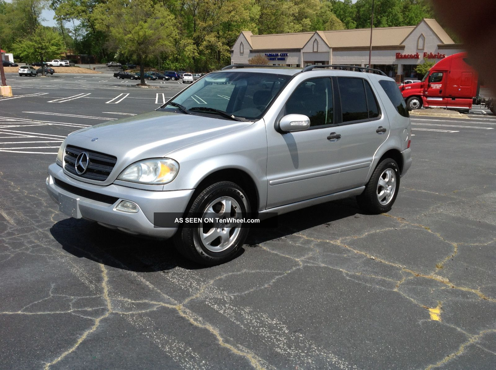 2002 mercedes benz ml320 base sport utility 4 door 3 2l