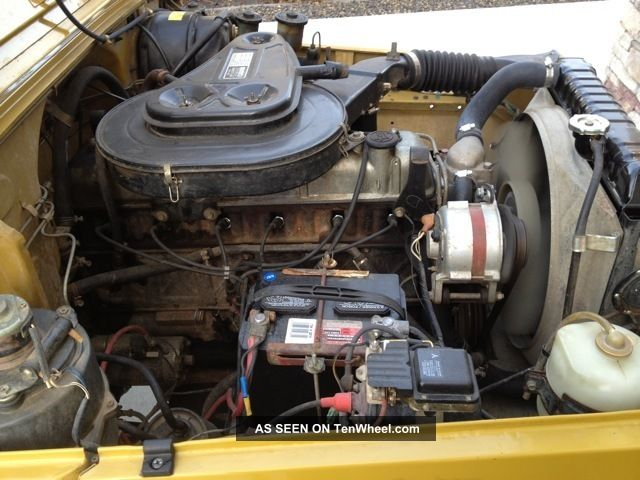 Rare 1977 Toyota Fj40 Land Cruiser W / Factory Pto Winch Land Cruiser photo