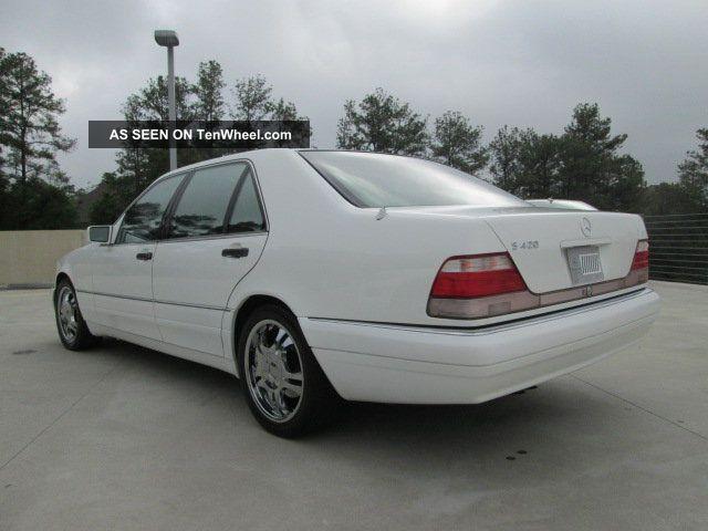 1997 mercedes benz s420 sedan 4 door 4 2l for Mercedes benz s420