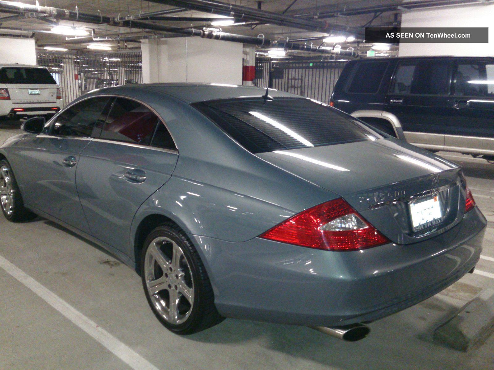 2006 mercedes benz cls500 sedan 4 door v8 5 0l chrome for 2006 mercedes benz cls
