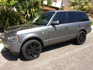 2010 Land Rover Range Rover Hse Sport Utility 4 - Door 5.  0l photo