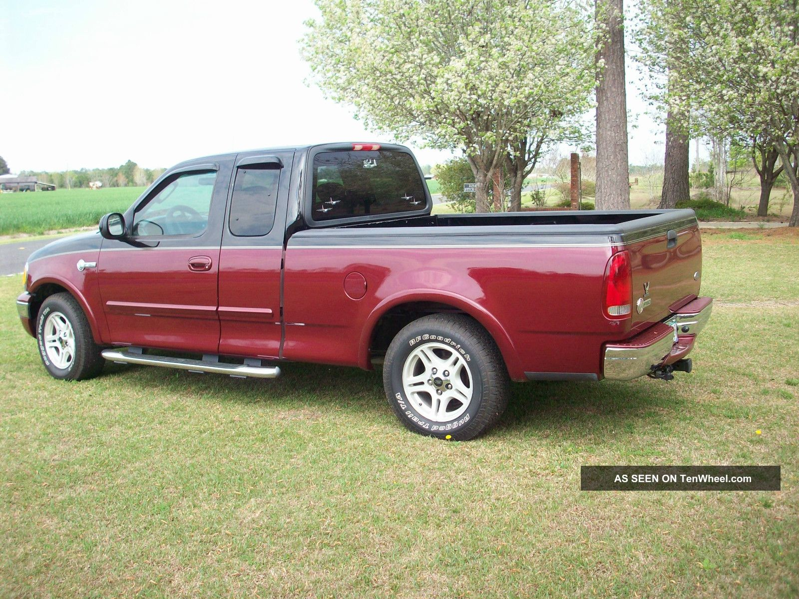 2003 Ford F - 150 Hertiage Classic Extended Cab Both Doors Open Luxury Package F-150 photo
