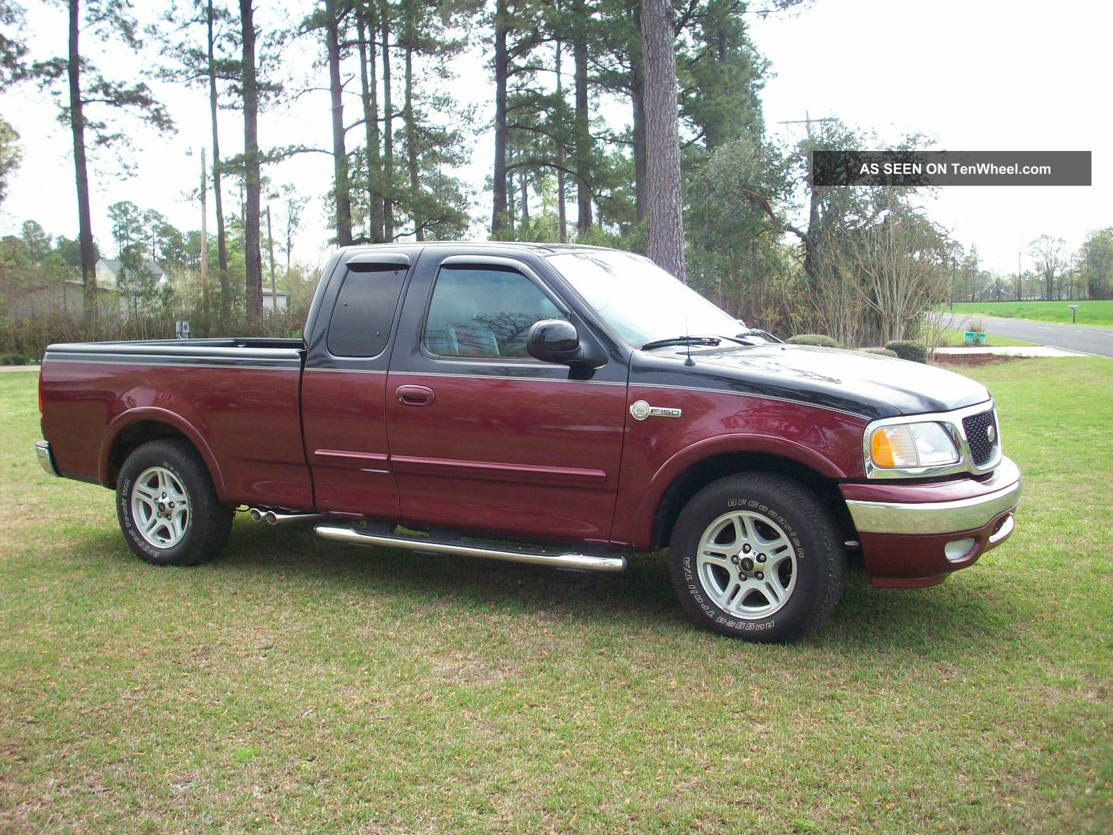 2003 ford f 150 hertiage classic extended cab both doors open luxury package. Black Bedroom Furniture Sets. Home Design Ideas
